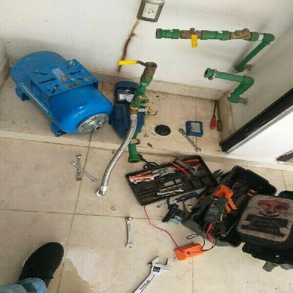Reparación de bombas de agua y sumergibles. fontanero