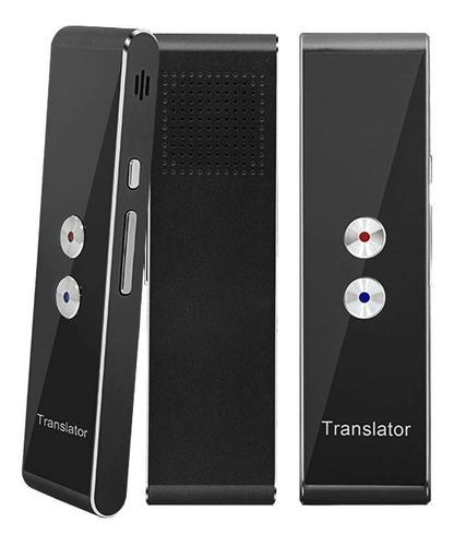 Traductor traducción bidireccional 40 idiomas voz texto