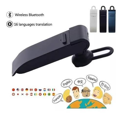 Traductora manos libres audífono bluetooth