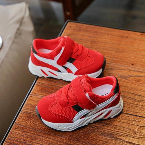 Zapatos deportivos para niños antideslizante explosiones