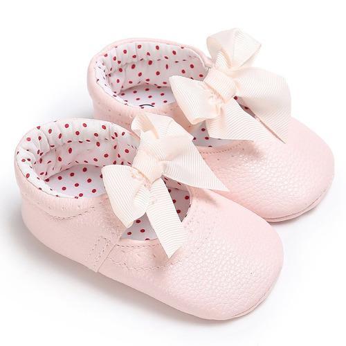 Zapatos princesa bebé arco