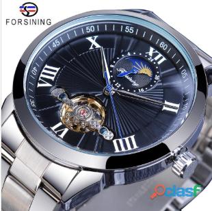 Fantastico reloj forsining hombres clásicos