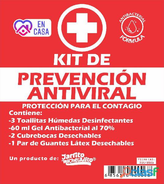 Kit de prevención antiviral