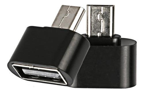 Adaptador otg usb hembra a v8 memorias mouse teclado