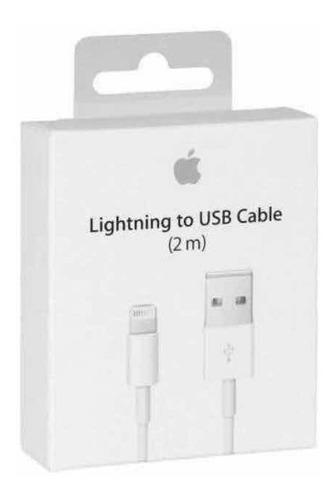 Cable 2mts usb iphone 6,7,8/x/xs/xr original