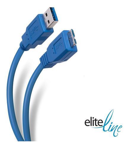 Cable elite usb 3.0 a micro usb 3.0 de 1,8 m   usb-392