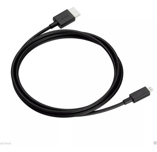 Cable micro hdmi blackberry 1080p de alta velocidad