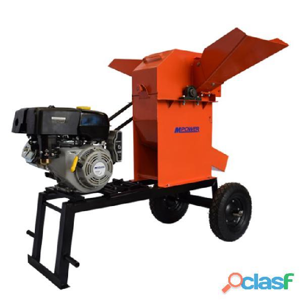 Picadora 2000 motor 6.5 hp gasolina chasis lineal pf2000l 6.5hp