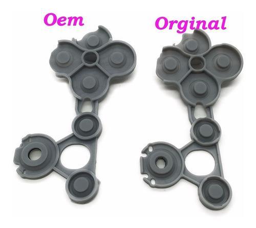 3 goma conductivas control xbox one botones gomas original