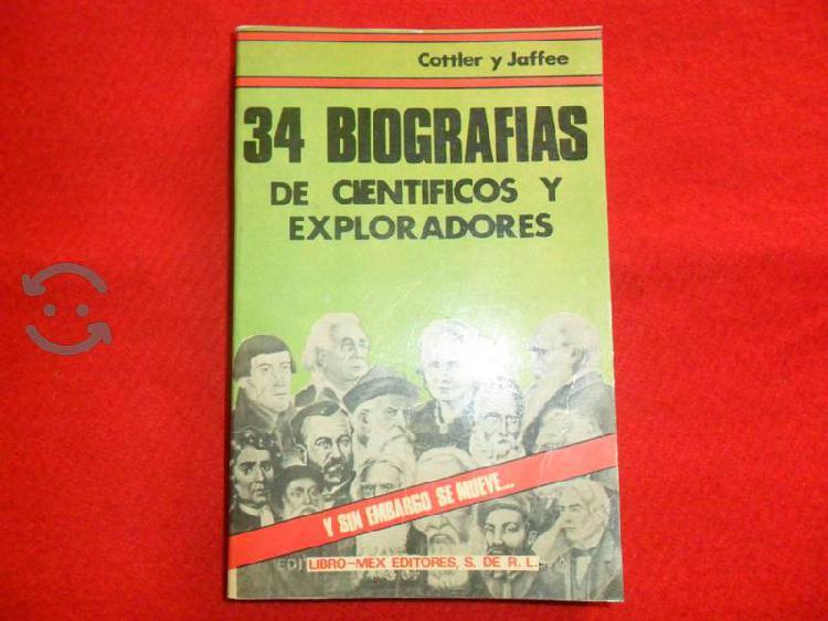 34 biografías de científicos y exploradores,cottle