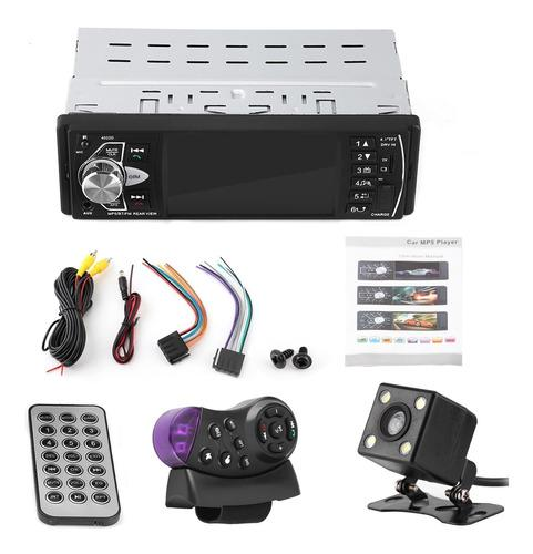 4.1 bluetooth car player fm radio rearview camera steering