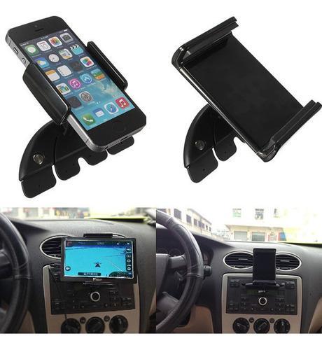 7 ajustable coche ranura cd soporte soporte para teléfono