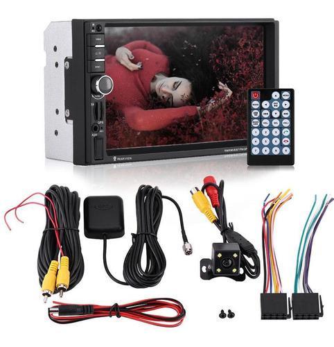 7'' bluetooth coche hd reproductor mp5 pantalla táctil gps