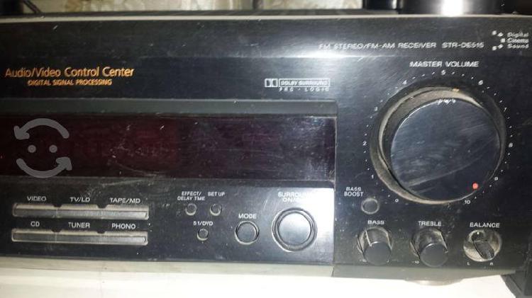 Amplificador sony teatro en casa