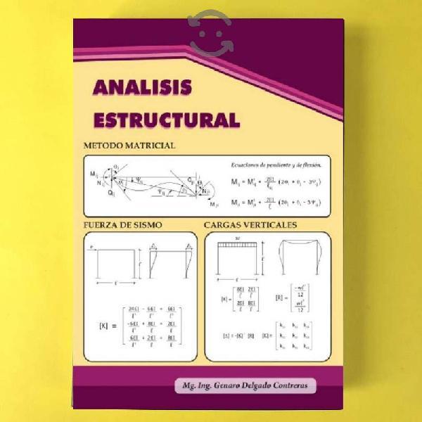 Analisis estructural - genaro delgado contreras
