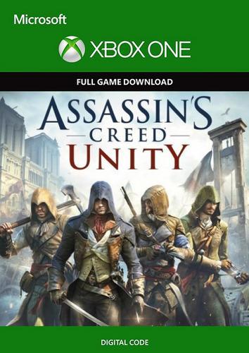 Asassins creed unity xbox one código digital