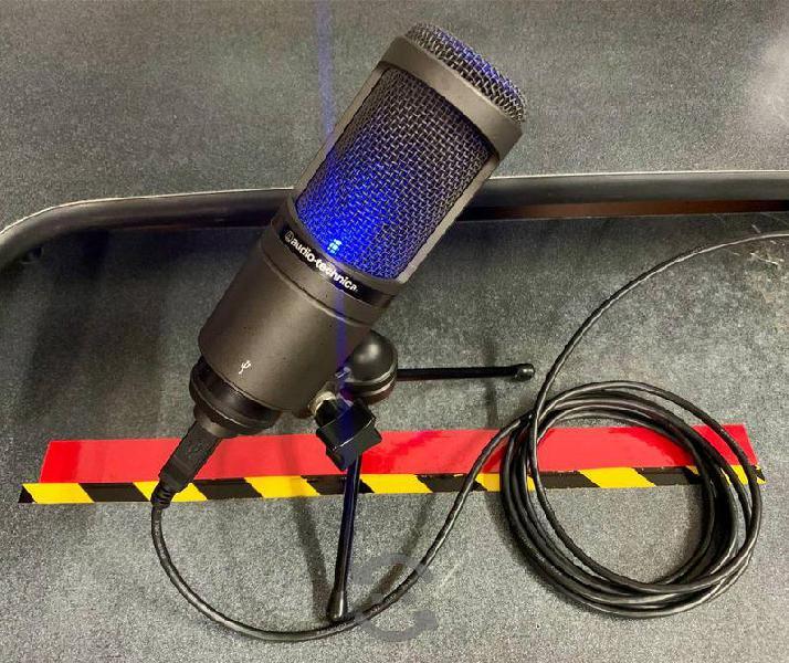 Audio technica t2020 - mic condensador cardioide