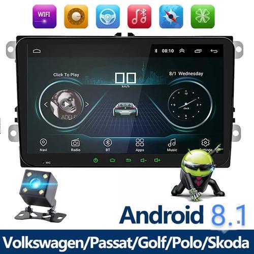 Auto estéreo de pantalla android wifi para volkswagen/seat