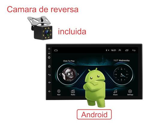 Auto estéreo wifi android 8.1 pantalla touch gps+camara