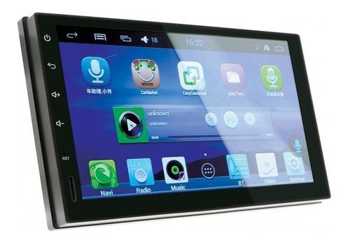 Autoestereo 2 din pantalla 7 android bluetooth wifi gps usb