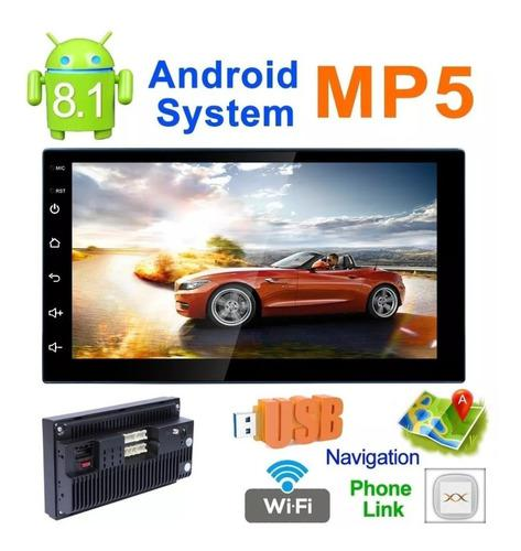 Autoestereo 7, android 8.1, wi-fi, gps, mirror link