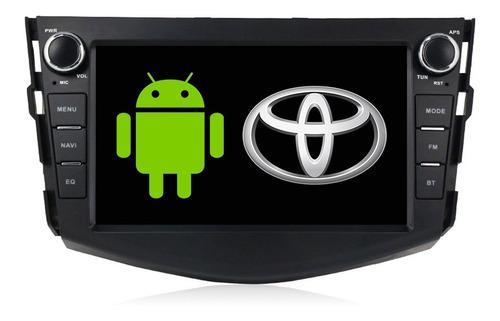 Autoestereo navegador gps android toyota rav4 06-12 usb wifi