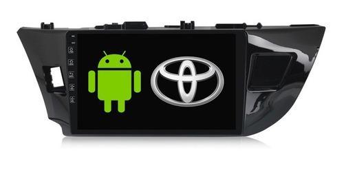 Autoestereo pantalla gps android toyota corolla 14-16 wifi
