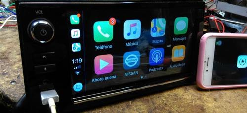 Autoestereo pantalla nissan sentra carplay android bluetooth