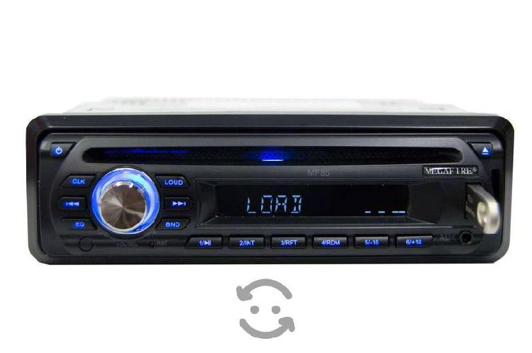 Autoestéreo mf85: auxiliar usb radio fm cd player