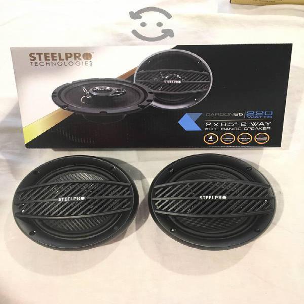 Bocinas para carro steelpro 6.5 par
