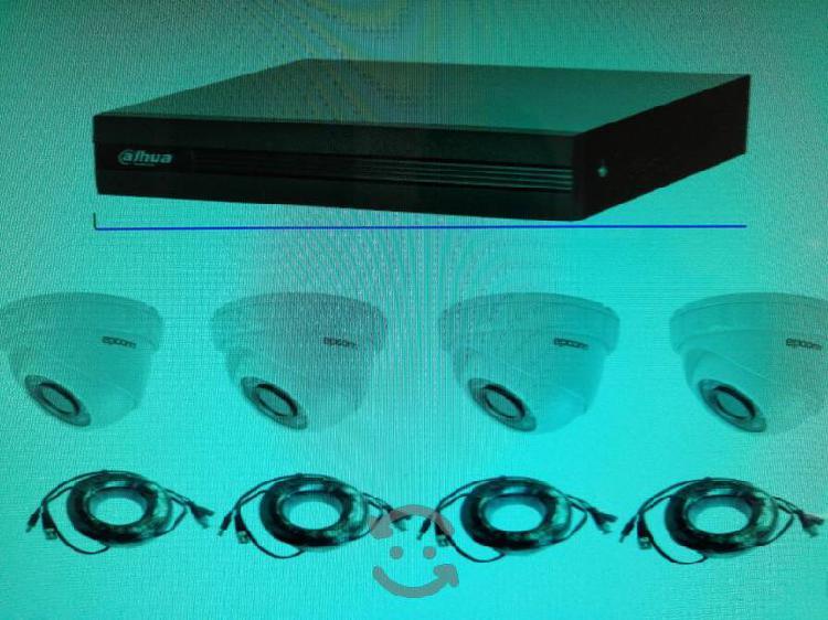 Cctv dvr y cámaras metálicas para ext. /inter