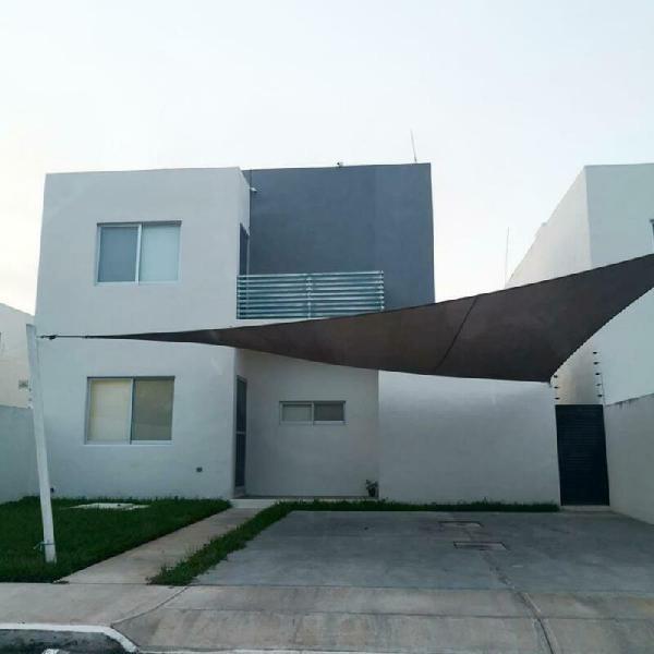 Casa en renta en merida, dzitya, completamente amueblada