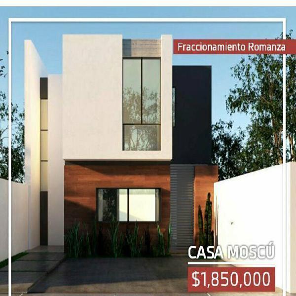 Casa en venta modelo moscu en fracc romanza en colima colima