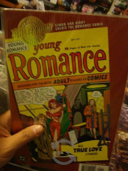 Dc comics clasicos yong romance