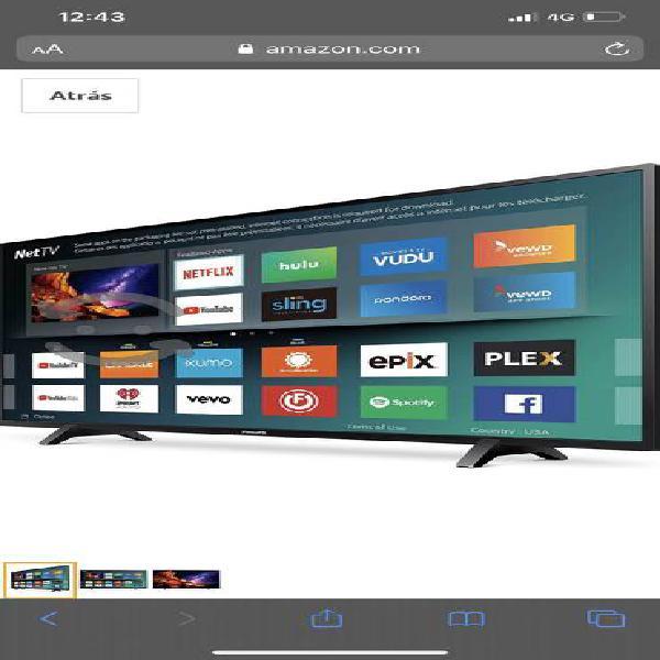 Excelente pantalla 4k ultra hd phillips