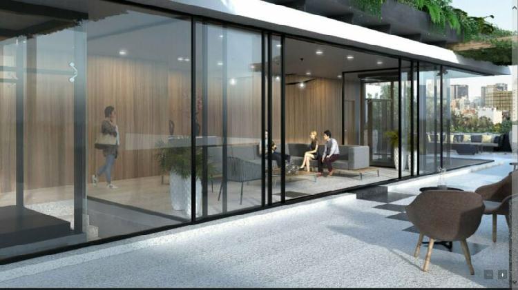 Garden house de 112 m2 condesa enfrente de parque españa