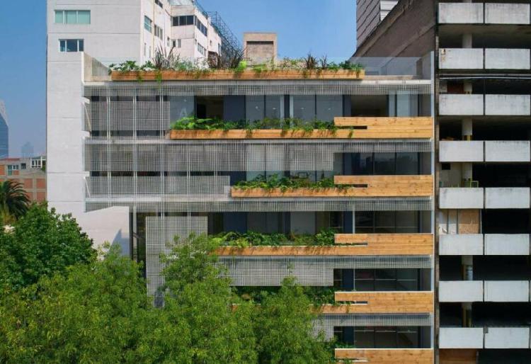 Garden pent house en preventa en cyta condesa, hipódromo