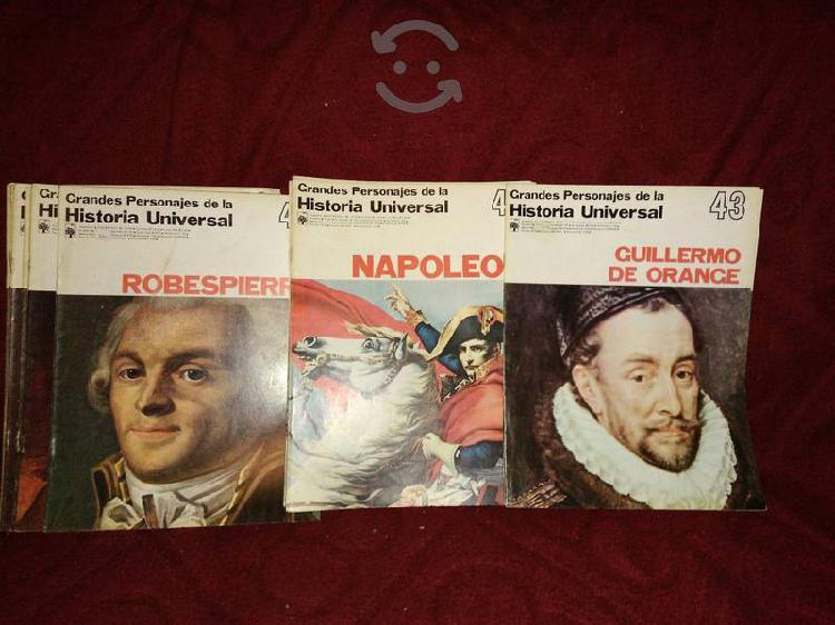 Grandes personajes de la historia universal
