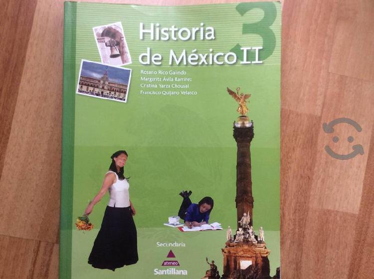 Historia de mexico. ii secundaria
