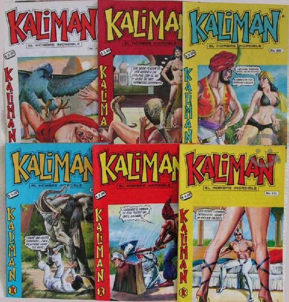 Kaliman el hombre increible años 98 y 99