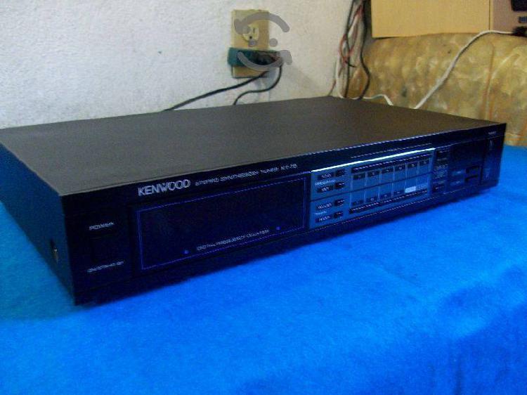 Kenwood tuner digital fm am timer sleep integrado