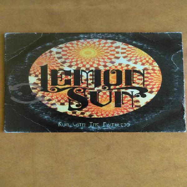"""LEMON SUN """"RUN WITH THE FAITHLESS"""" CD IMPORTADO EU"""