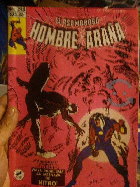 Marvel comics retro spider man vs nitro