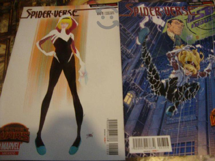 Marvel comics secret wars spider verse miniserie