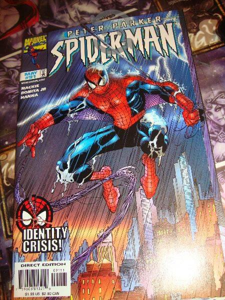 Marvel comics spider man / dusk con doble portada