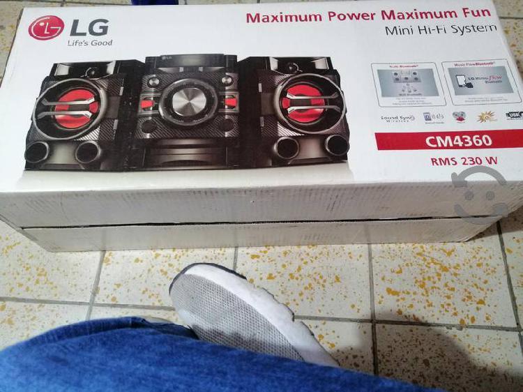 Micro componente lg bluetooth excelente sonido