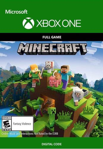 Minecraft xbox one código digital