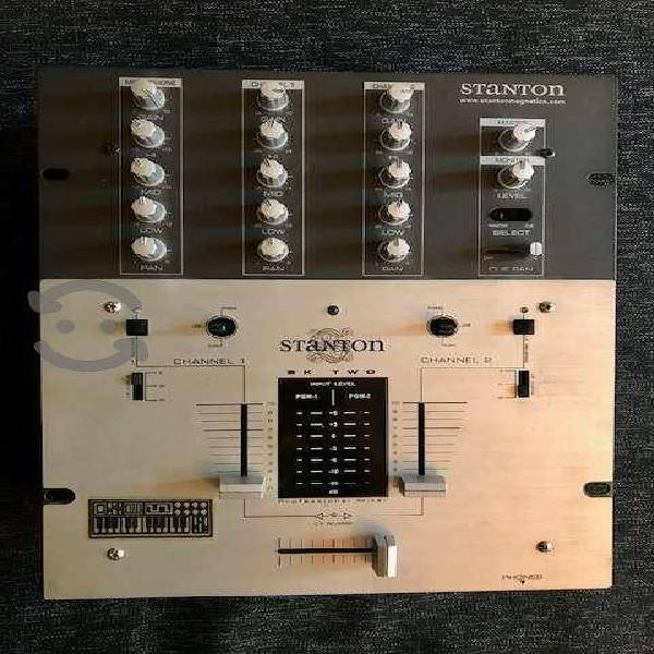 Mixer stanton sk-two como nuevo!!
