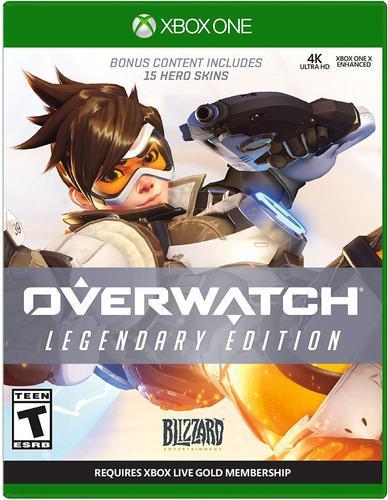 Overwatch: legendary edition | juego completo xbox one renta
