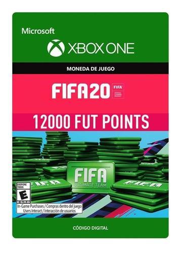 Pack de 12000 fifa points fifa20 solo para consola xbox one